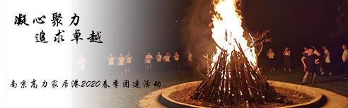 南京高力家居港2020甲山下體驗拓展培訓