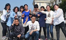 泰日社区服务中心2015提升团队凝聚力拓展